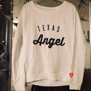 VICTORIA'S SECRET Texas Angel Sequin Sweatshirt